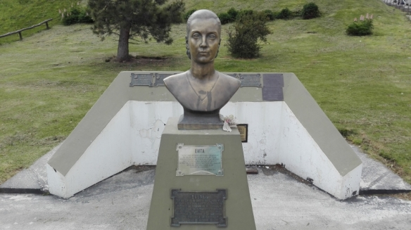 Monument of Evita Peron