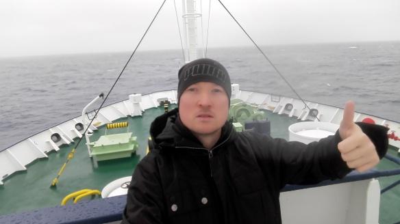 Drake Passage, let the adventure begin