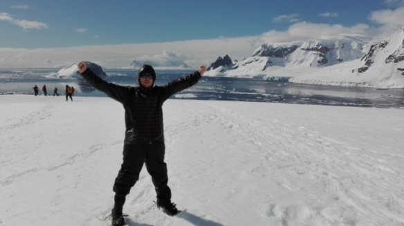 Finally made it on top of Danco Island